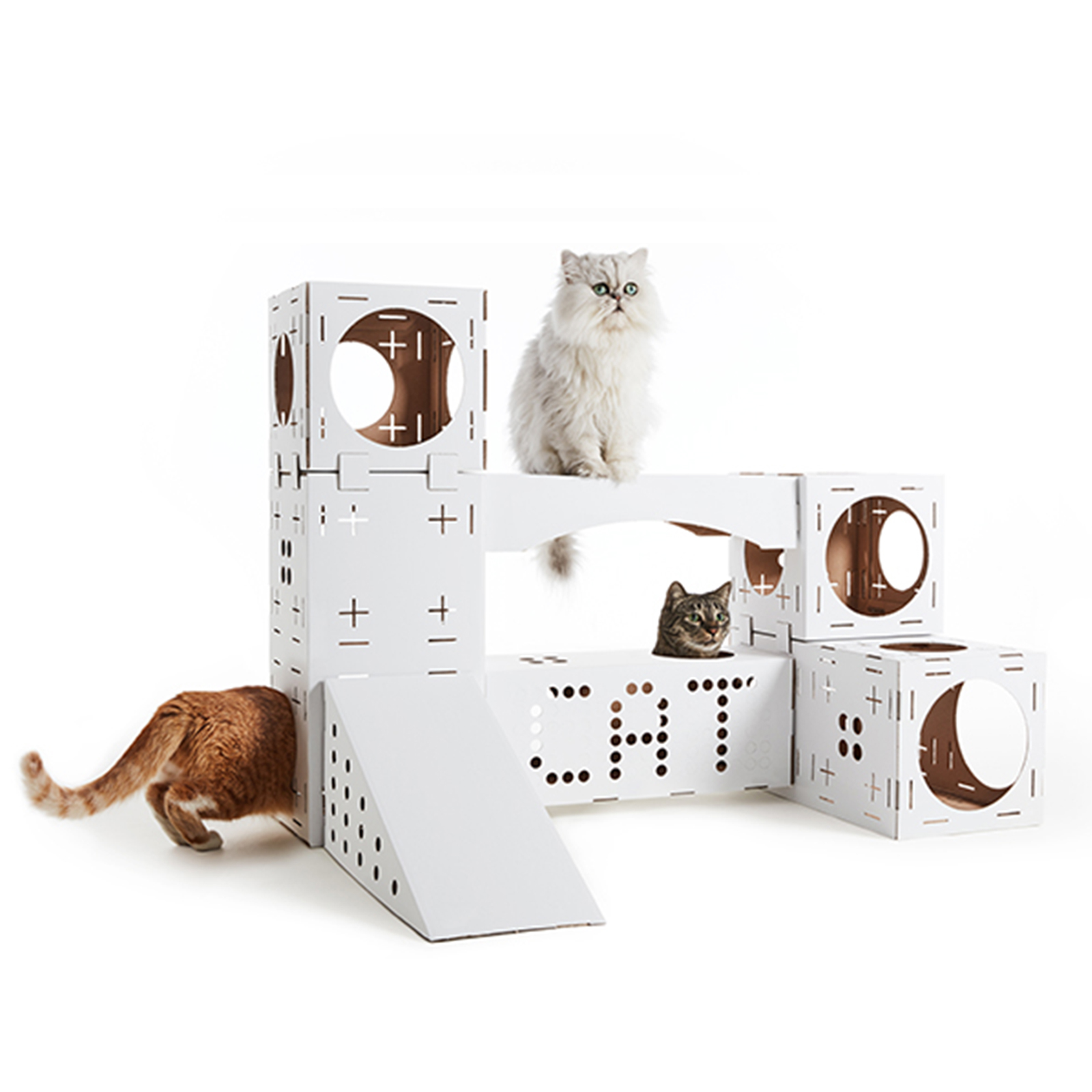 Blocks Cat Play House System Toy By Poopy Cat 71 21