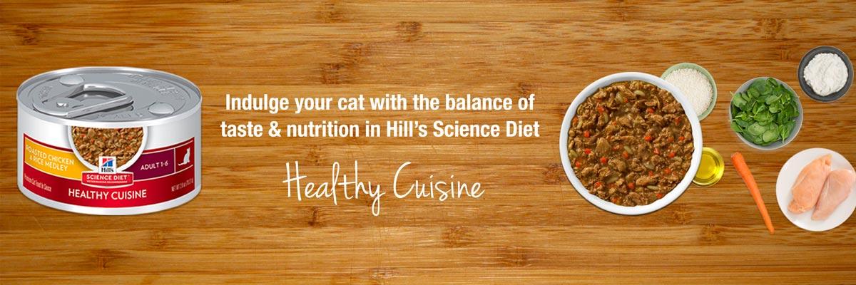 Science Diet Healthy Cuisine