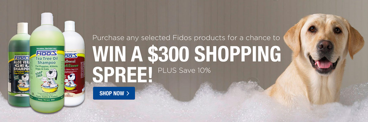 Fidos 10% Off + Be in the chance to win a $300 shopping spree