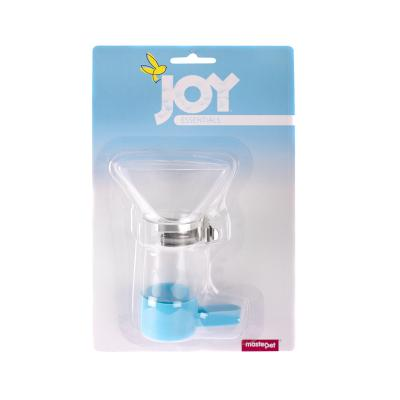 Joy Funnel Feeder Seed Dish With Cage Clip For Birds