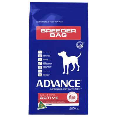 Advance Active All Breed Chicken Adult Dry Dog Food 20kg