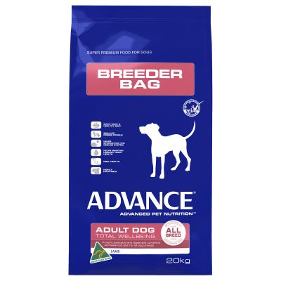 Advance All Breed Dogs Lamb And Rice Adult Dry Dog Food 20kg