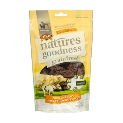 Natures Goodness Grain Free Treats For Dogs Chicken With Rosemary 200g