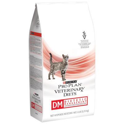 Pro Plan Veterinary Diet Feline DM Dietetic Management Dry Cat Food 4.54kg