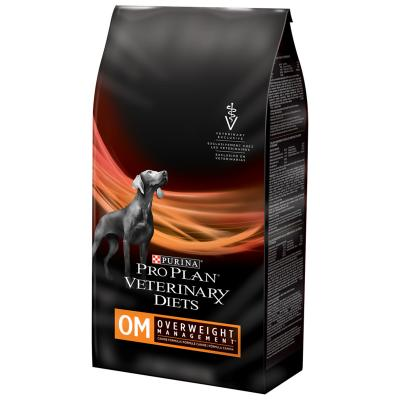 Pro Plan Veterinary Diet Canine OM Overweight Management Dry Dog Food 8.16kg
