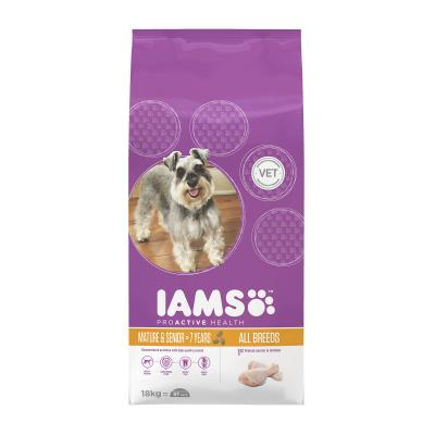 Iams Mature/Senior Dry Dog Food 18kg