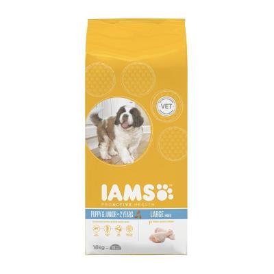 Iams Large Breed Puppy/Junior Dry Dog Food 18kg