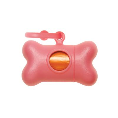 Bon Ton Nano Pet Waste Poo Bag Dispenser Pearl Pink For Dogs