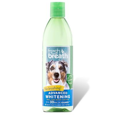 Tropiclean Fresh Breath Water Additive Advance Whitening Oral Care For Dogs And Cats 473ml