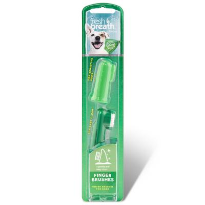 Tropiclean Fresh Breath Finger Toothbrushes 2 Pack For Dogs