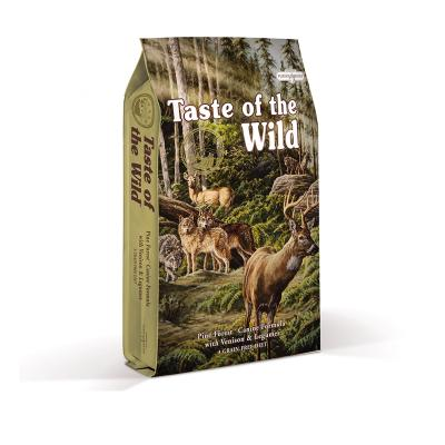 Taste of the Wild Grain Free Pine Forest Venison And Legumes Puppy And  Adult Dry Dog Food 13kg