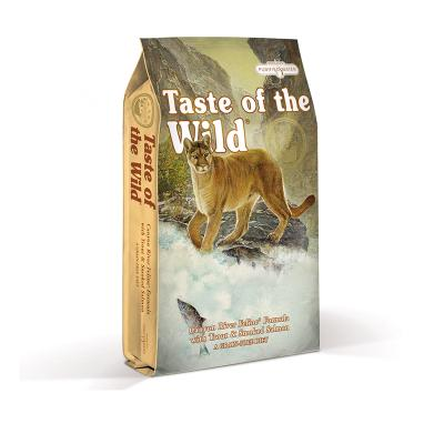 Taste of the Wild Grain Free Canyon River Trout Smoked Salmon Kitten And Adult Dry Cat Food 2kg