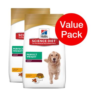 Hills Science Diet Perfect Weight Adult Dry Dog Food 13.6kg