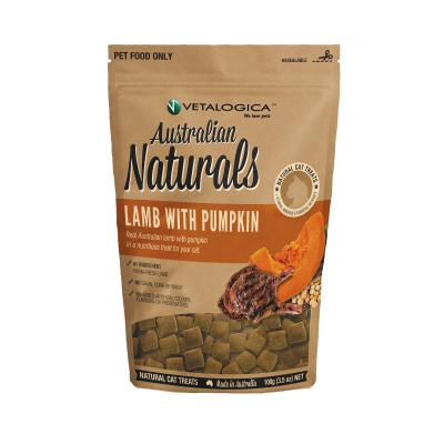 Vetalogica Australian Naturals Lamb With Pumpkin Grain Free Treats For Cats 100gm