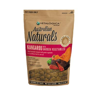 Vetalogica Australian Naturals Kangaroo And Garden Vegetables Grain Free Treats For Cats 100gm