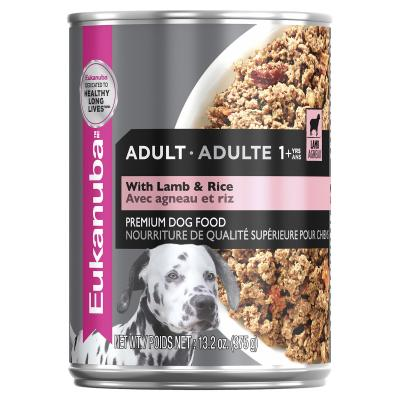 Eukanuba Lamb And Rice Adult Canned Wet Dog Food 375gm x 12