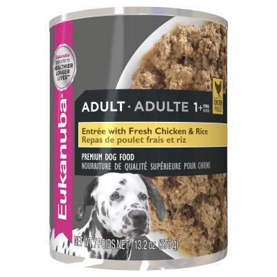 Eukanuba Chicken Rice And Vegetable Adult Canned Wet Dog Food 375gm x 12