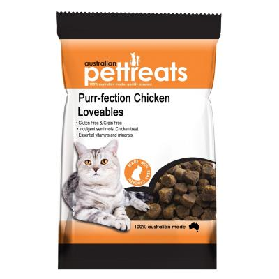 Australian Pettreats Purr-fection Chicken Loveables Treats For Cats 80gm