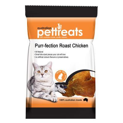 Australian Pettreats Purr-fection Roast Chicken Treats For Cats 60gm