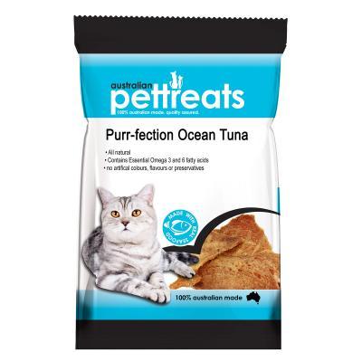 Australian Pettreats Purr-fection Ocean Tuna Treats For Cats 40gm
