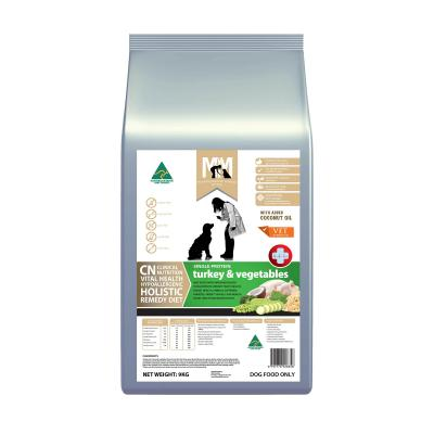 Meals For Mutts MfM CN Clinical Nutrition Hypoallergenic Single Protein Turkey And Vegetable Dry Dog Food 9kg