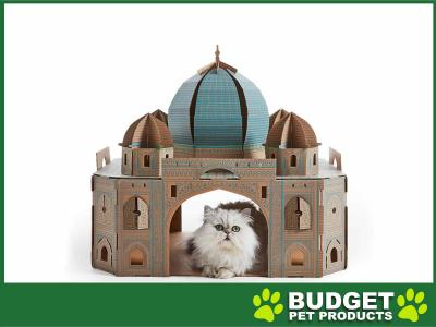 Landmarks Cat Play House System Taj Mahal Scratch Toy By Poopy Cat