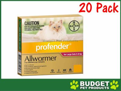 Profender For Cats All Wormer Red 5-8kg  x 20