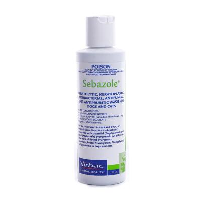 Sebazole Antipruritic Wash For Dogs And Cats 250ml