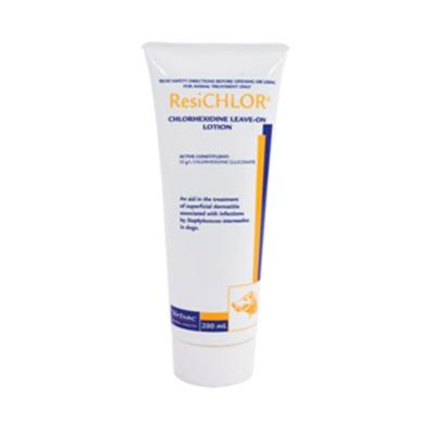 Resichlor Chlorhexidine Leave On Lotion For Dogs 200ml