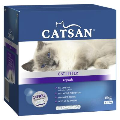 Catsan Crystal Litter For Cats 6kg