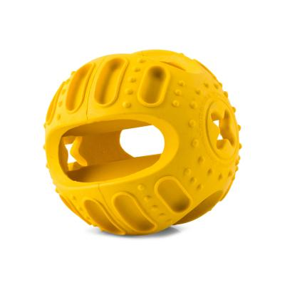 Yours Droolly Entertaineze Stuff n Bounce Treat Ball Small Toy For Dogs