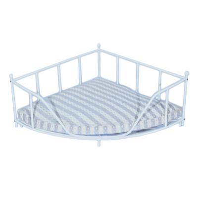 Luv A Pet Luxury Deluxe Wrought Iron Corner Style Bed For Dogs And Cats