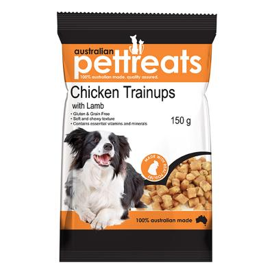 Australian Pettreats TrainUps Chicken With Lamb Treats For Dogs 150gm