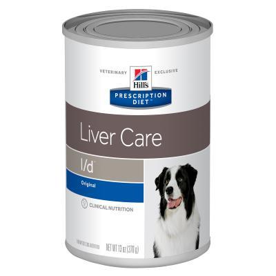 Hills Prescription Diet Canine L/d Liver Care Original Canned Wet Dog Food 370gm x 12 (7011)