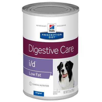 Hills Prescription Diet Canine i/d Digestive Care Low Fat Canned Wet Dog Food 370gm X 12 (1863)