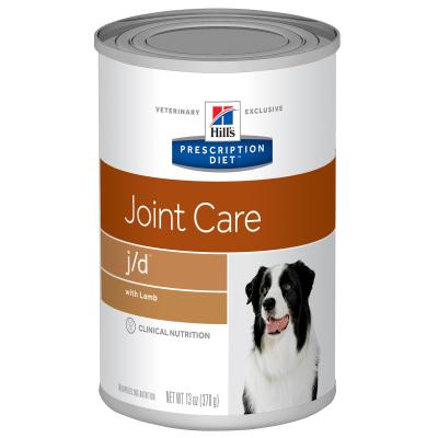 Hills Prescription Diet Canine j/d 370gm X 12 Canned Wet Dog Food (7009)