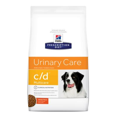 Hills Prescription Diet Canine c/d Urinary Care Multicare Chicken Dry Dog Food 3.85kg (10111)