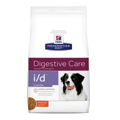 Hills Prescription Diet Canine i/d Digestive Care Low Fat Chicken Dry Dog Food 3.85kg (1861)