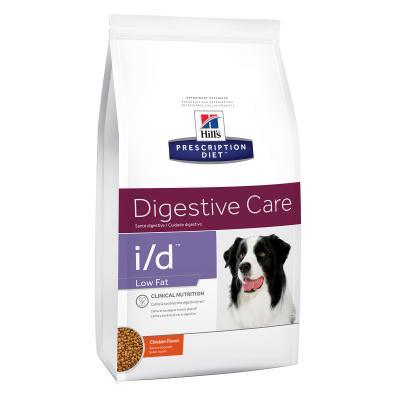 Hills Prescription Diet Canine i/d Digestive Care Low Fat Dry Dog Food 7.98kg (1862)