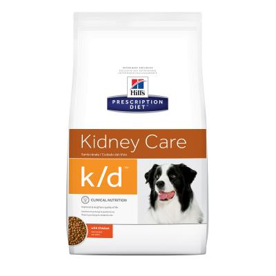 Hills Prescription Diet Canine k/d Kidney Care Chicken Dry Dog Food 7.98kg (8622)