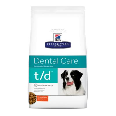 Hills Prescription Diet Canine t/d Dry Dog Food 5.5kg (10365HG)