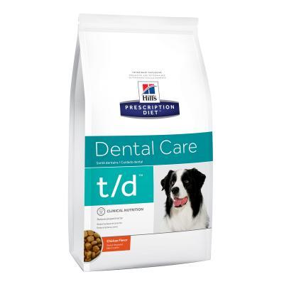 Hills Prescription Diet Canine t/d Dry Dog Food 11.3kg (4018)