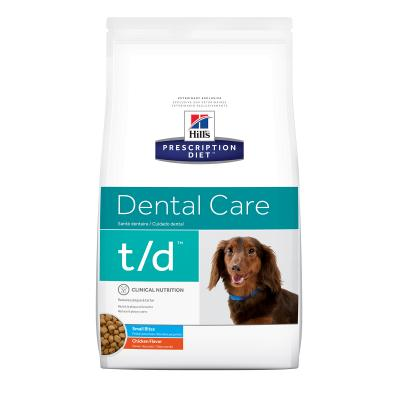 Hills Prescription Diet Canine t/d Small Bite Dry Dog Food 2.25kg (4005)