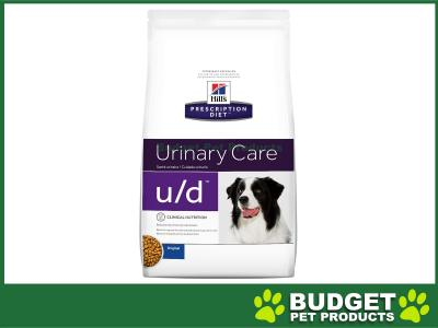 Hills Prescription Diet Canine u/d Dry Dog Food 3.85kg (8670)