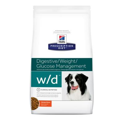 Hills Prescription Diet Canine w/d Dry Dog Food 12.5kg (8602)
