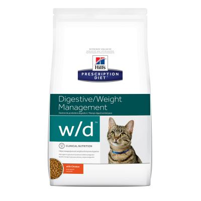 Hills Prescription Diet Feline w/d Dry Cat Food 1.5kg (10367HG)