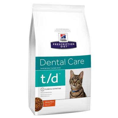 Hills Prescription Diet Feline t/d Dry Cat Food 3kg (10364HG)