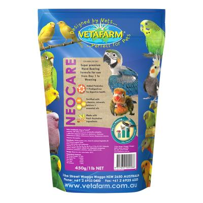 Vetafarm Neocare Hand Rearing Formula For Birds 450gm