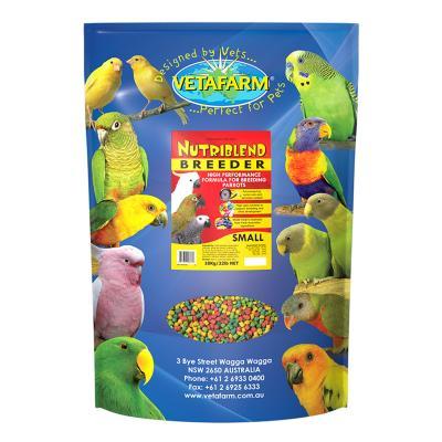 Vetafarm Nutriblend Pellets Breeder High Performance Complete Food For Breeding Parrot Birds 10kg
