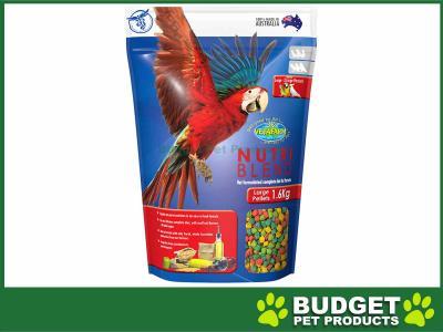 Vetafarm Nutriblend Pellets Large Complete Food For Large XLarge Parrot Birds 1.6kg